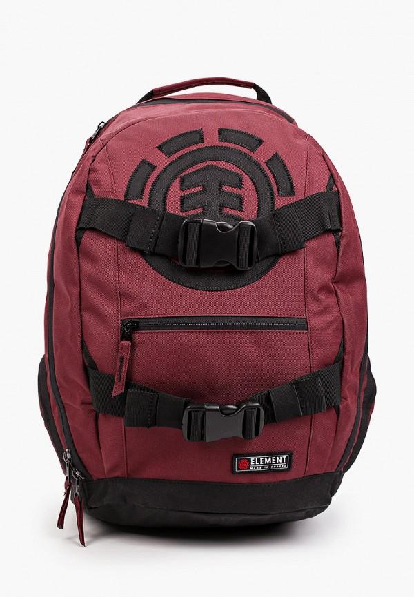 женский рюкзак element, бордовый