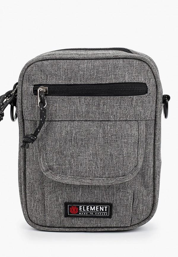 женская сумка element, серая