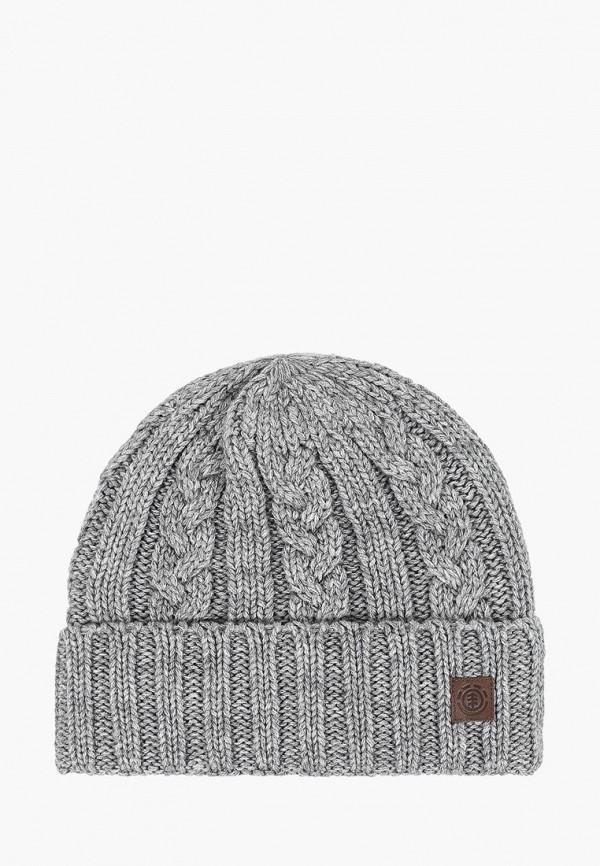 мужская шапка element, серая