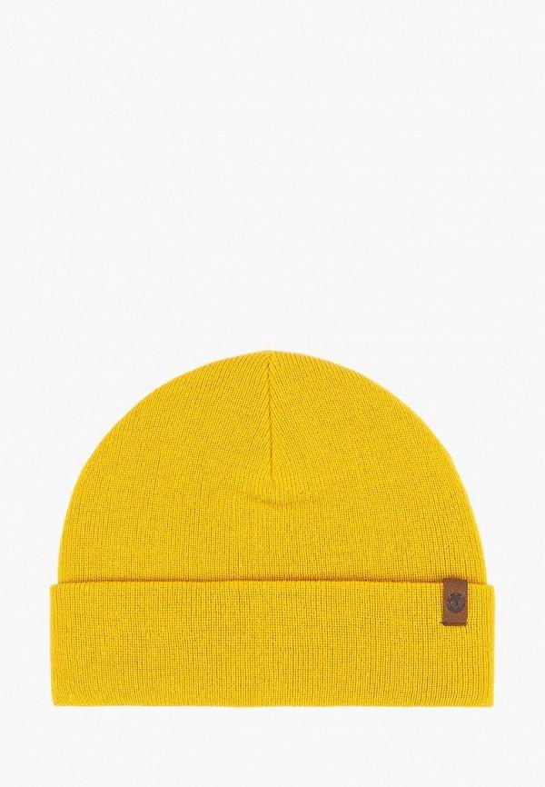 мужская шапка element, желтая
