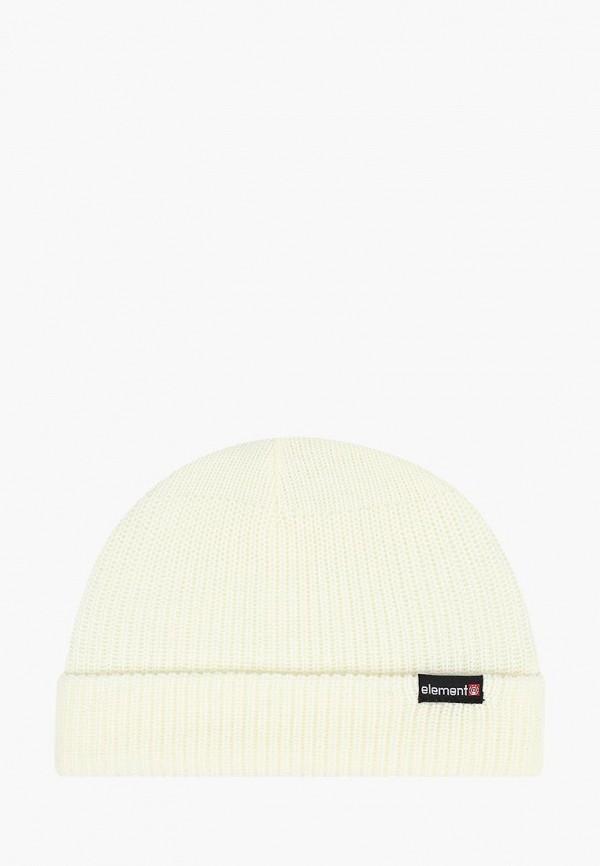 мужская шапка element, бежевая
