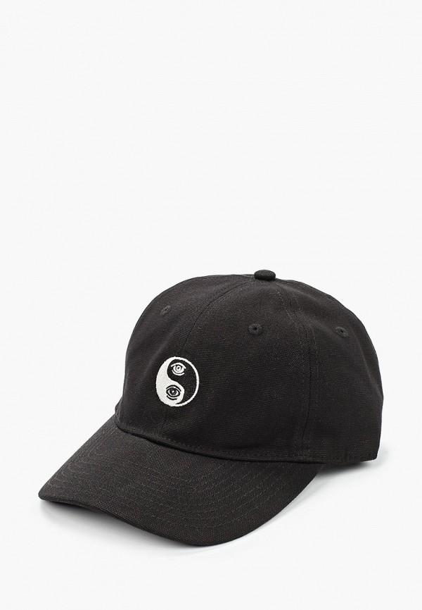 мужская бейсболка element, черная