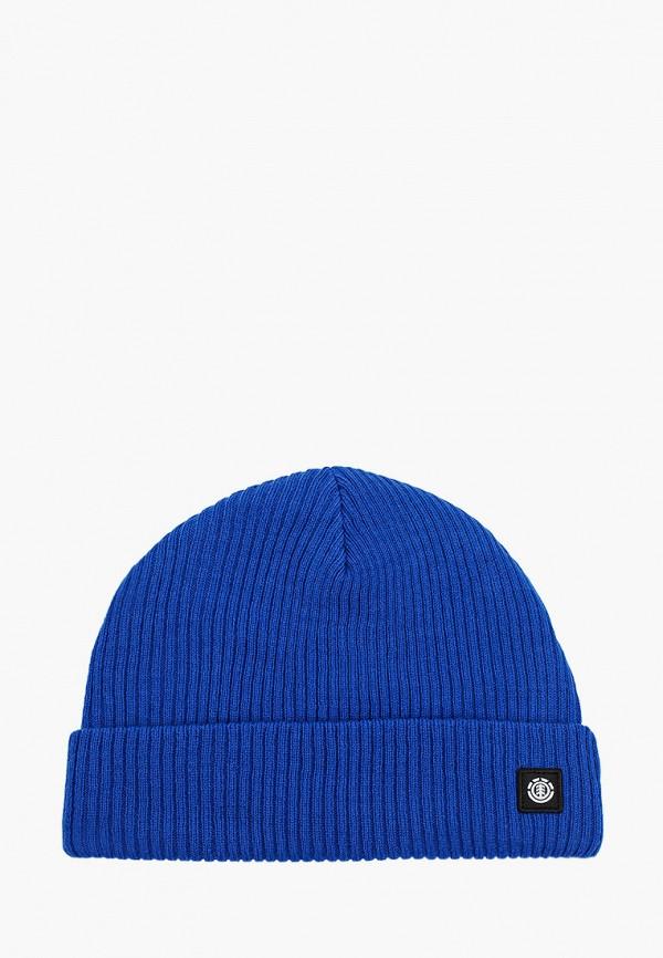 женская шапка element, синяя