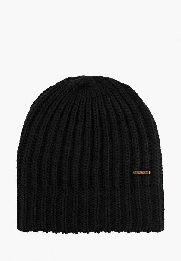 женская шапка element, черная