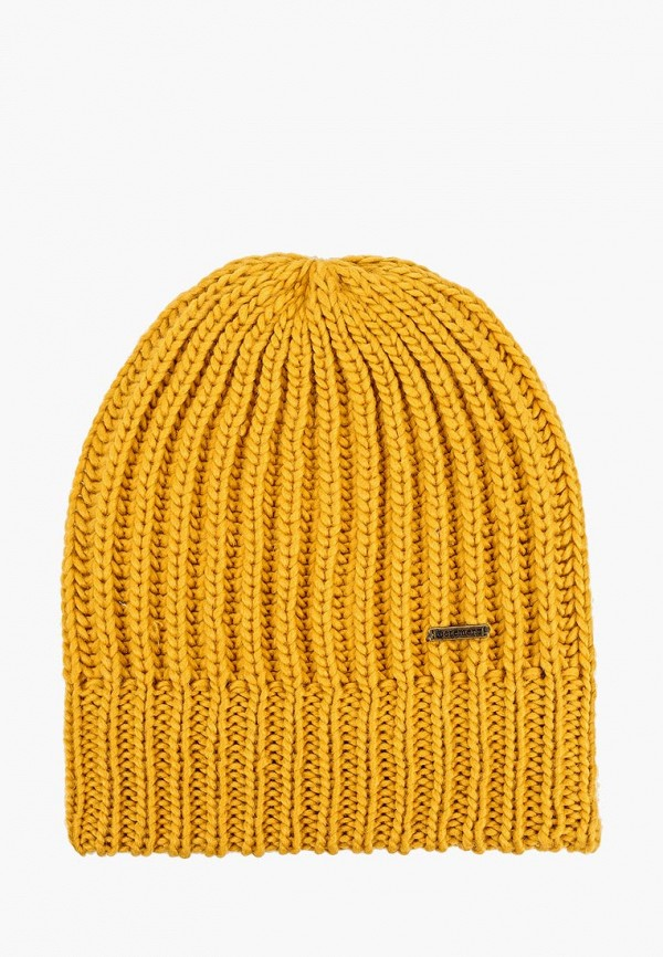 женская шапка element, желтая