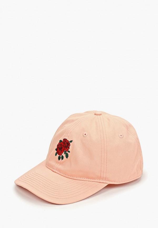 женская бейсболка element, розовая