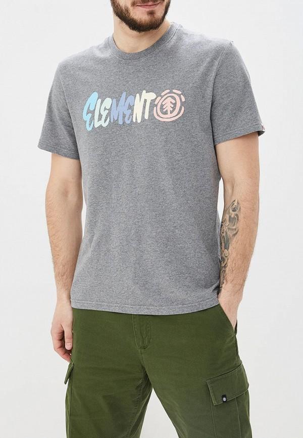 мужская спортивные футболка element, серая