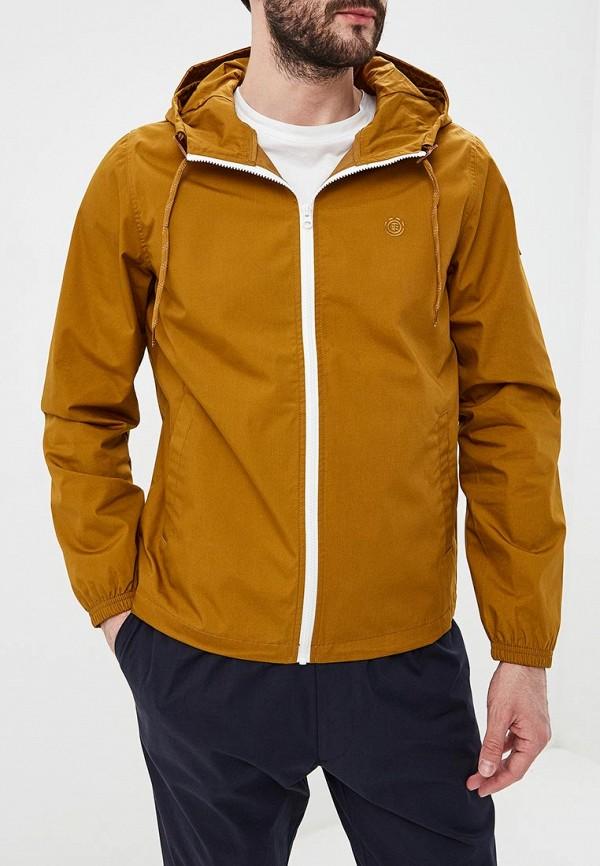 мужская куртка element, коричневая