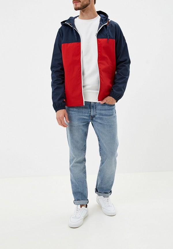 Фото 2 - мужскую куртку Element красного цвета