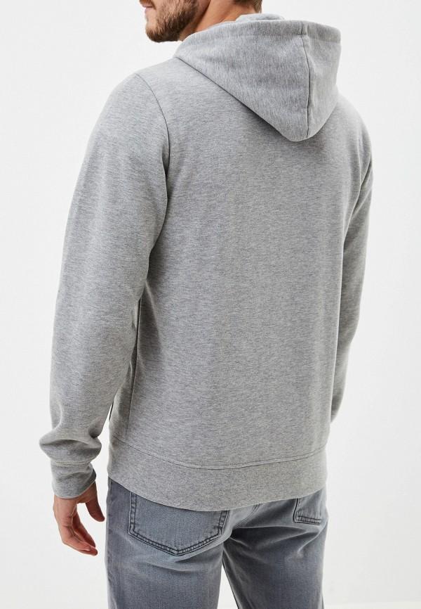 Фото 3 - мужскую толстовку Element серого цвета