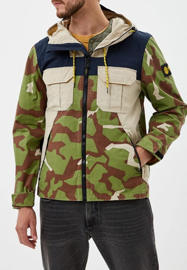 мужская куртка element, хаки