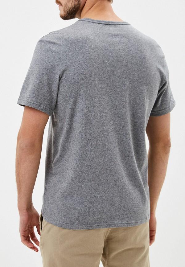 Фото 3 - мужскую футболку Element серого цвета
