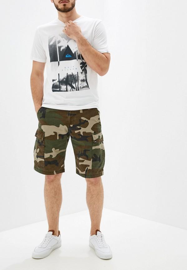 Фото 2 - мужские шорты Element цвета хаки