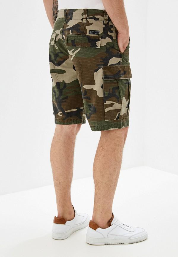Фото 3 - мужские шорты Element цвета хаки