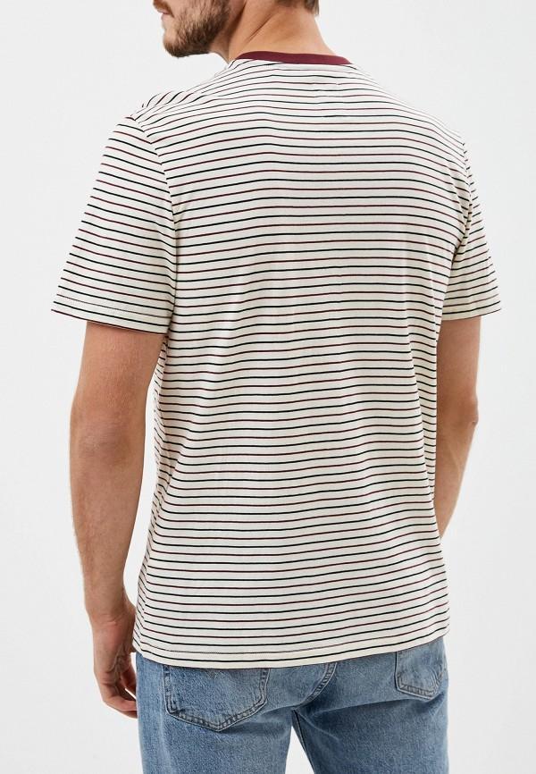 Фото 3 - мужскую футболку Element бежевого цвета