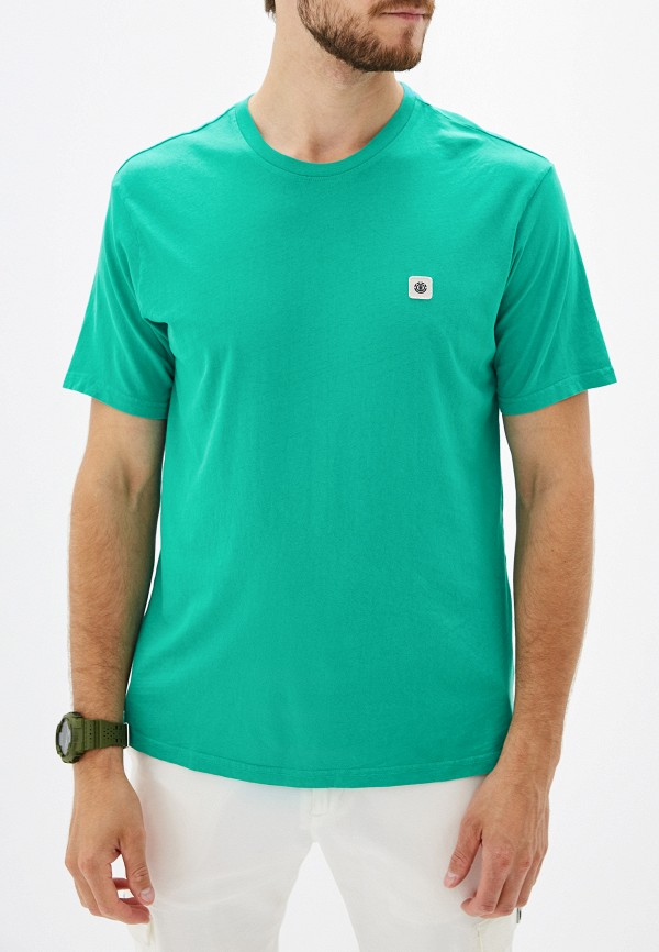 Фото - мужскую футболку Element бирюзового цвета