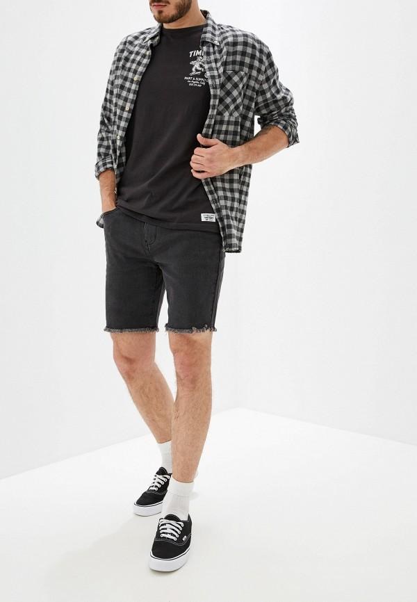 Фото 2 - мужскую футболку Element черного цвета