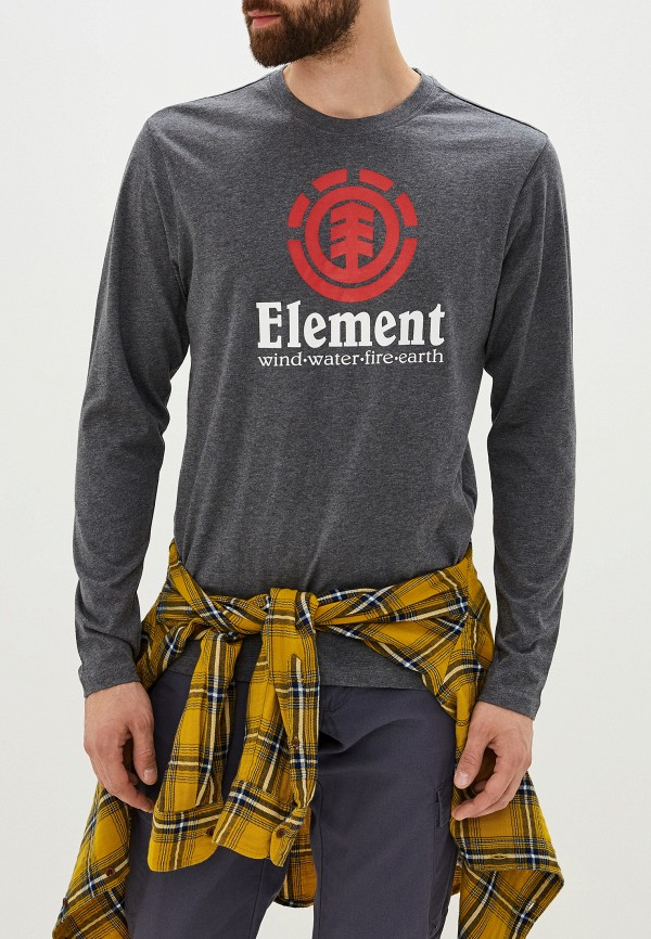 Лонгслив Element Element EL003EMGLKQ9 лонгслив element element el003emglkr2