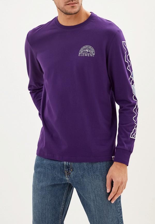 мужской лонгслив element, фиолетовый