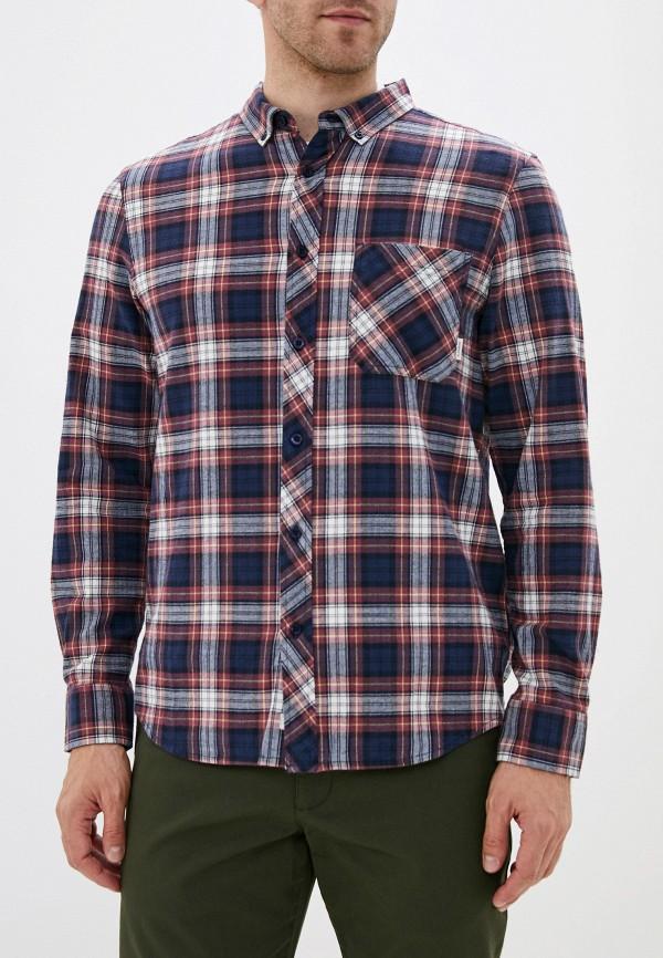 мужская рубашка element, синяя