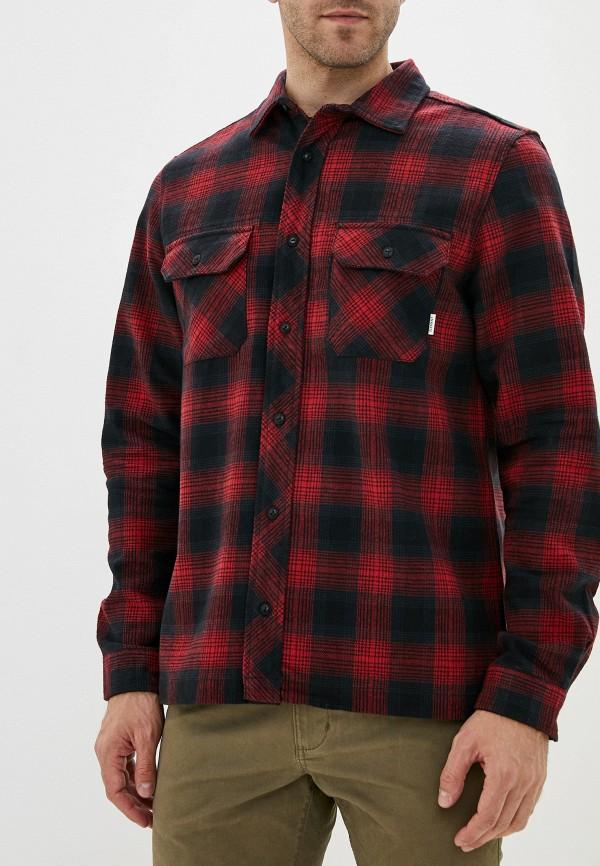 мужская рубашка element, красная