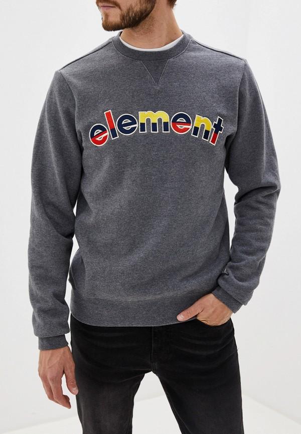 мужской свитшот element, серый