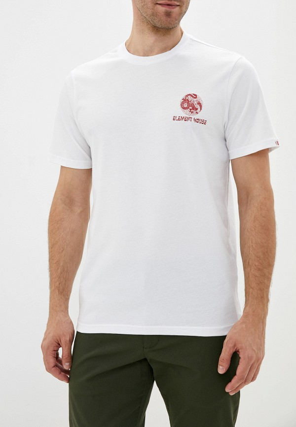 мужская спортивные футболка element, белая