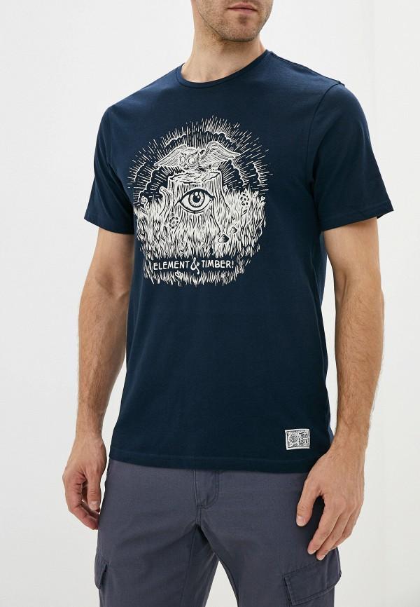 мужская спортивные футболка element, синяя