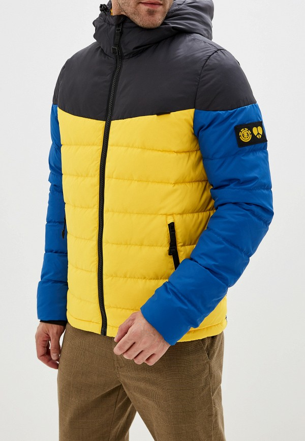 мужская куртка element, синяя