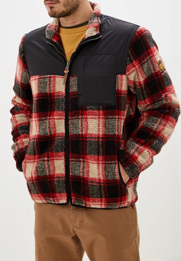 мужская куртка element, красная