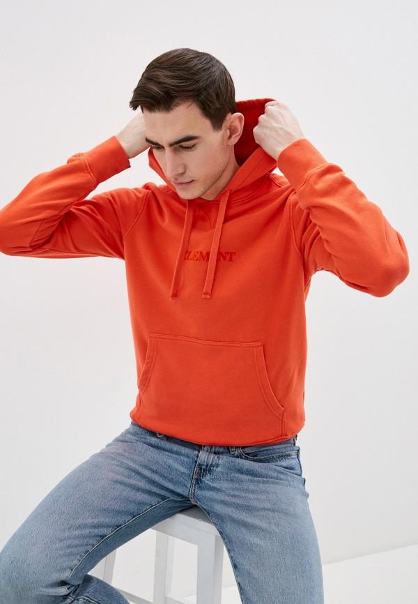 мужские худи element, оранжевые