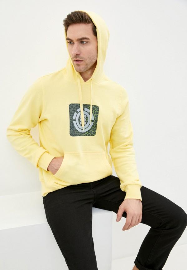 мужские худи element, желтые