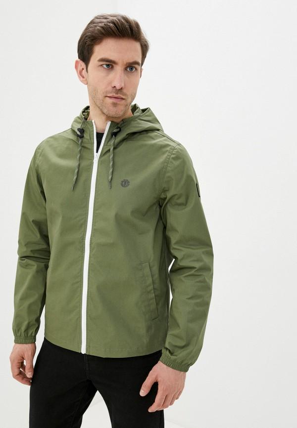мужская куртка element, зеленая