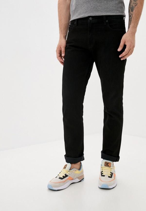 мужские джинсы element, черные