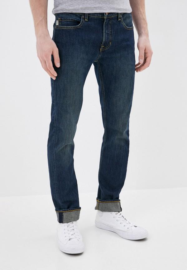 мужские джинсы element, синие