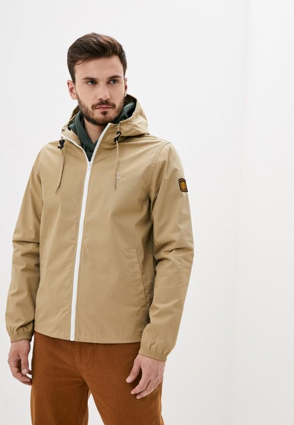 мужская куртка element, бежевая