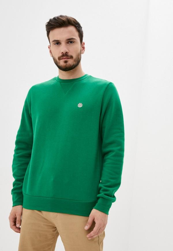 мужской свитшот element, зеленый