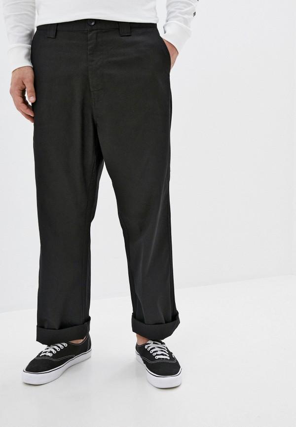 мужские брюки element, черные