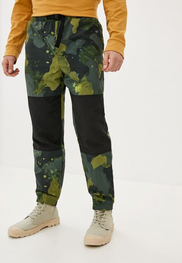 мужские брюки element, зеленые