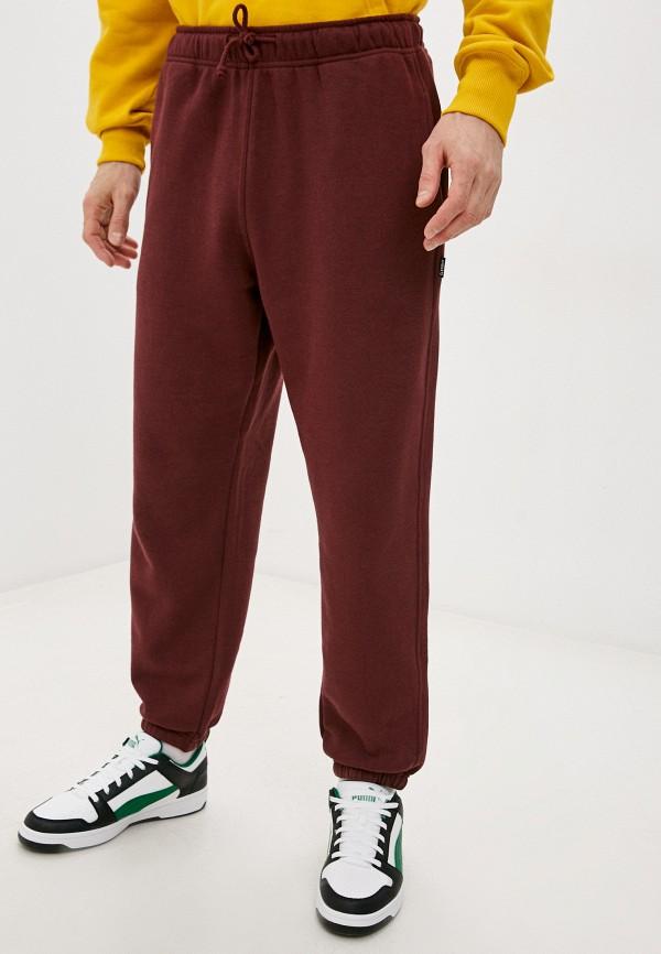мужские спортивные брюки element, бордовые
