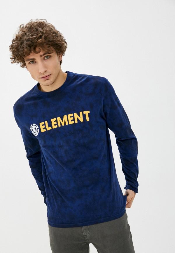 мужской лонгслив element, синий