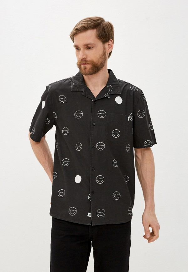 мужская рубашка element, черная