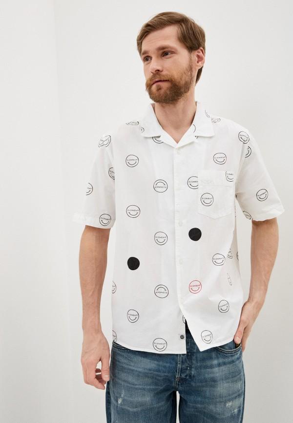 мужская рубашка element, белая
