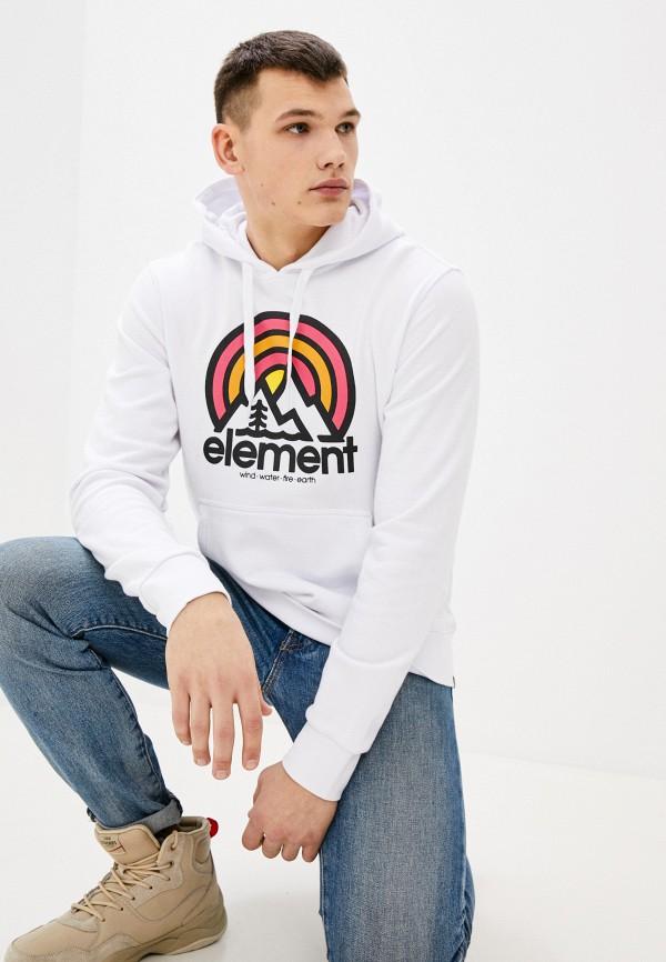 мужские худи element, белые