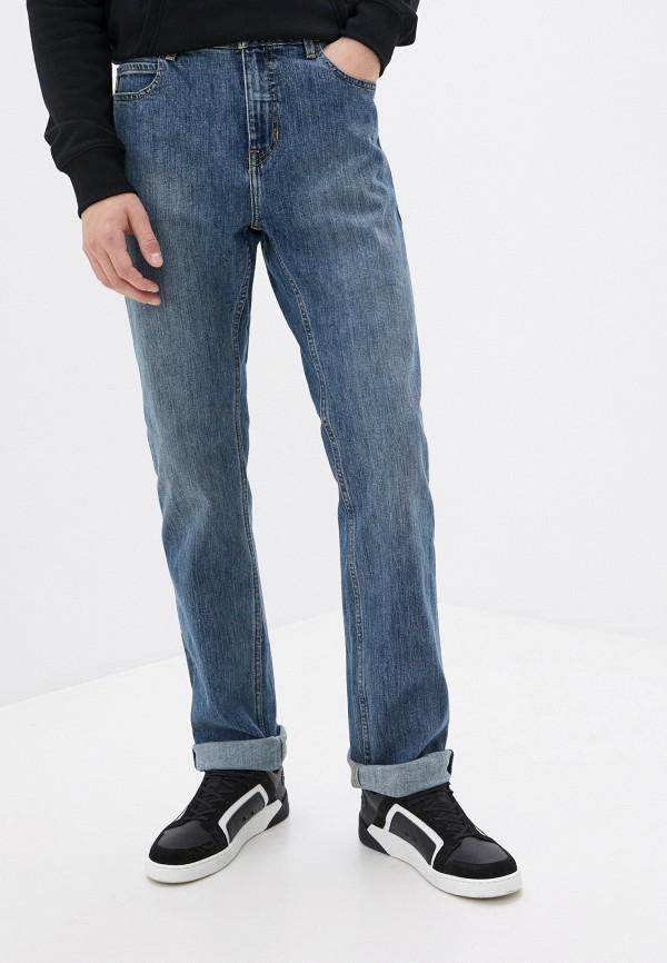 мужские зауженные джинсы element, синие