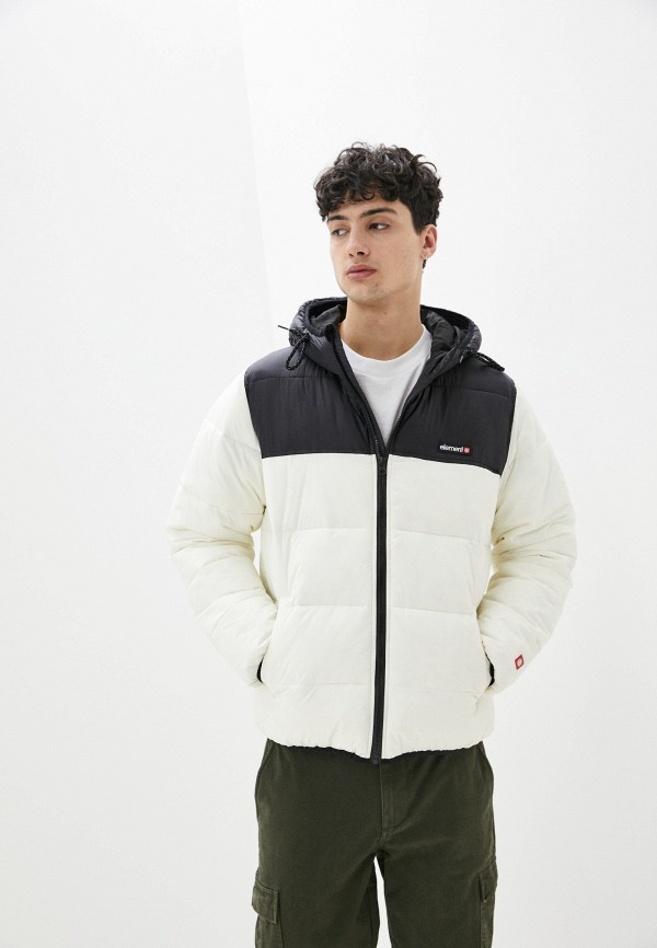 мужская куртка element, белая
