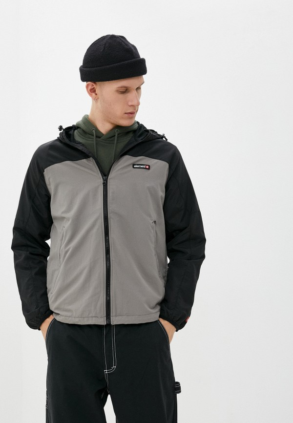 мужская куртка element, серая