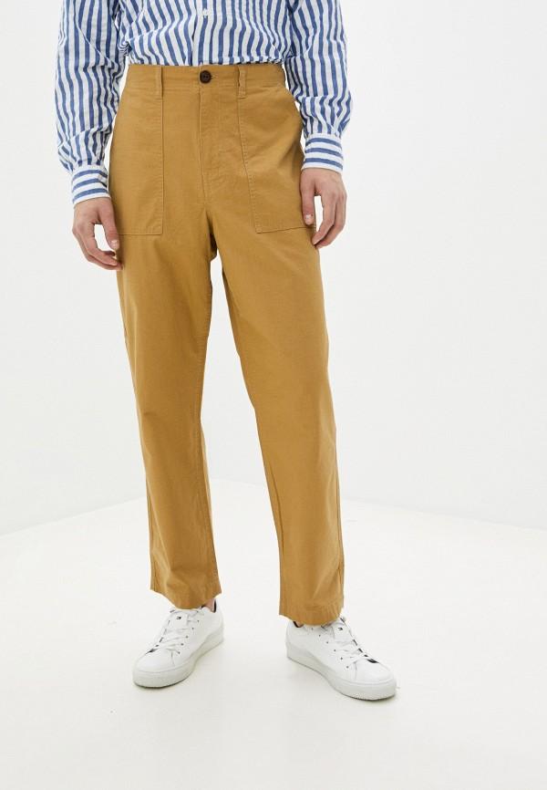 мужские прямые брюки element, коричневые