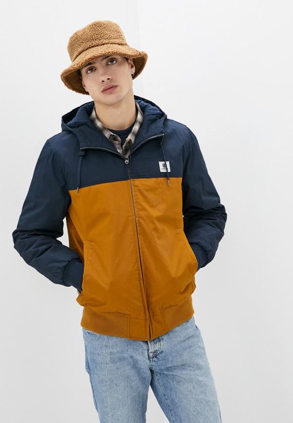 мужская куртка element, оранжевая