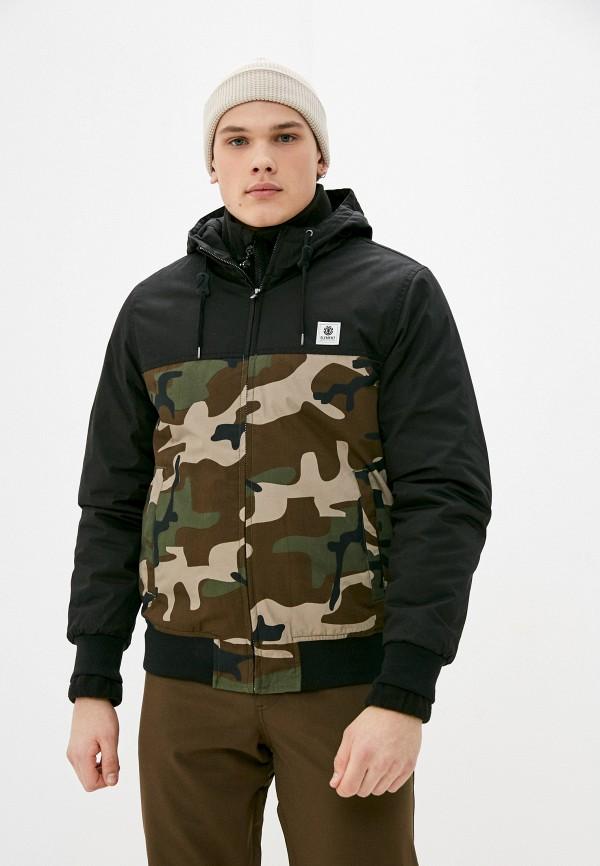 мужская куртка element, черная
